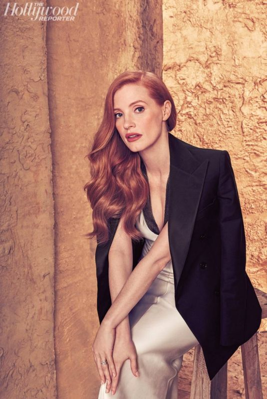 JESSICA CHASTAIN in The Hollywood Reporter Roundtable, November Issue 2017
