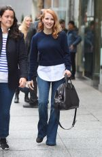 JESSICA CHASTAIN Out for Lunch in New York 11/16/2017