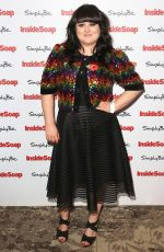 JESSICA ELLIS at Inside Soap Awards 2017 in London 11/06/2017