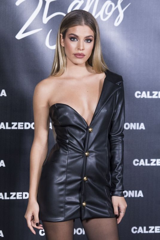 JESSICA GOICOECHEA at 25th Calzedonia Anniversary Party in Madrid 11/23/2017