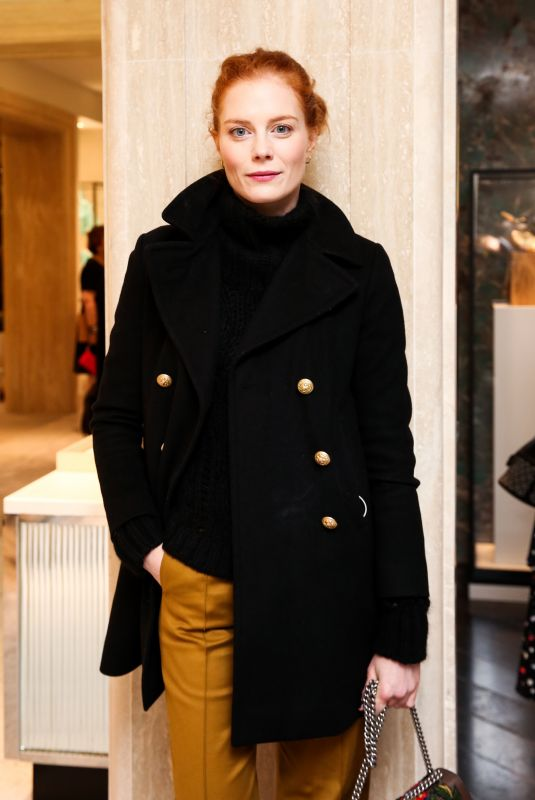 JESSICA JOFFE at Tiffany & Co. Collection Launch in New York 11/08/2017