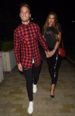 JESSICA SHEARS and Dom Lever Night Out in Manchester 11/03/2017