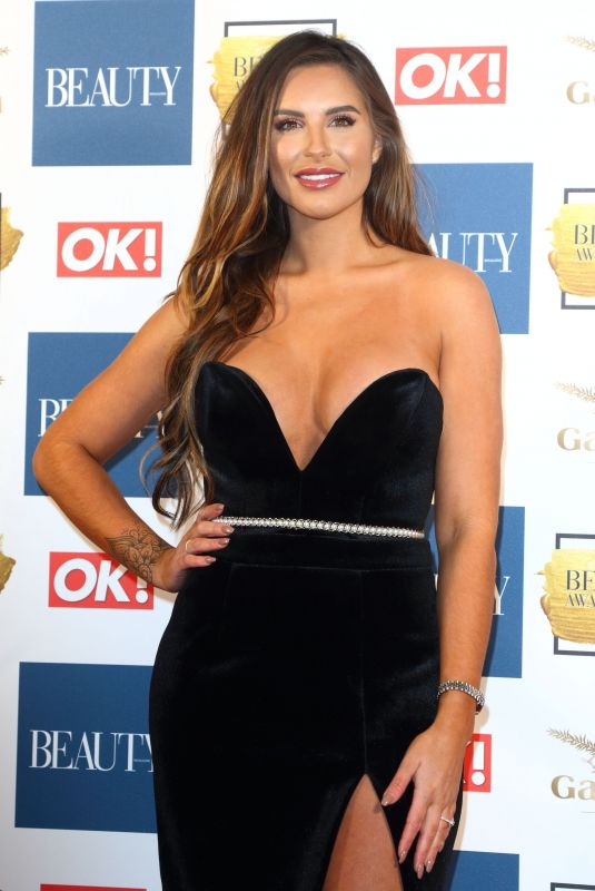 JESSICA SHEARS at OK! Magazine Beauty Awards in London 11/28/2017