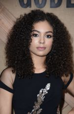 JESSICA SULA at Godless Series Premiere in New York 11/19/2017