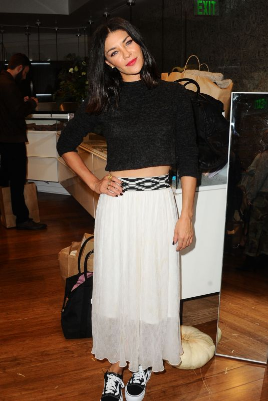 JESSICA SZOHR at Bollare Holiday Harvest x Timberland Fall Style Event in Beverly Hills 11/14/2017