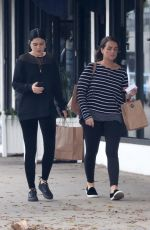 JESSIE J and a Friend Out Shopping in West Hollywood 10/30/2017