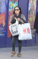 JESSIE WALLACE Out and About in London 11/22/2017
