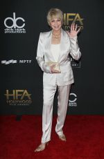 JOANNA CASSIDY at 2017 Hollywood Film Awards in Beverly Hills 11/05/2017