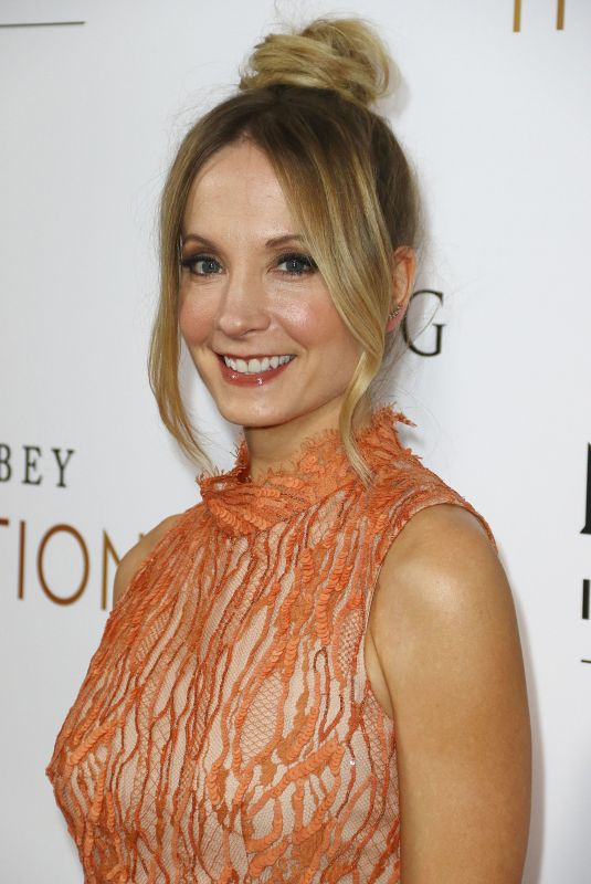 JOANNE FROGGATT at Downton Abbey: The Exhibition in New York 11/17/2017