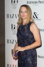 JODIE FOSTER at Harper's Bazaar Women of the Year Awards in London 11/02/2017