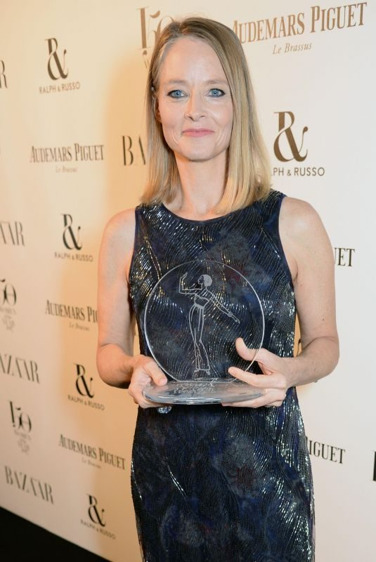 JODIE FOSTER at Harper's Bazaar Women of the Year Awards in London 11/02/2017