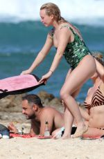 JORGIE PORTER in Swimsuit at a Beach in Hawaii 11/06/2017