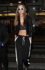 JOSEPHINE SKRIVER at LAX Airport in Los Angeles 11/02/2017
