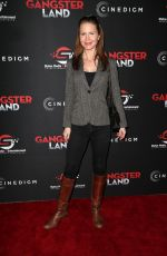 JOSIE DAVIS at Gangster Land Premiere in Los Angeles 11/29/2017