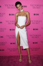 JOURDANA PHILLIPS at 2017 Victoria's Secret Fashion Show Viewing Party in New York 11/28/2017
