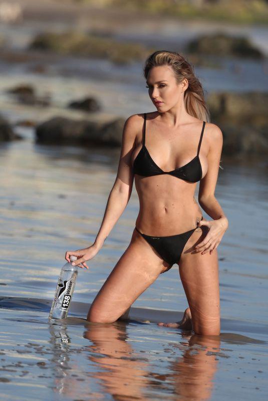 JULES LIESL in Bikini on the set of 138 Water Photoshoot in Malibu 11/05/2017