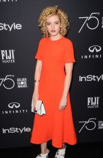 JULIA GARNER at HFPA & Instyle Celebrate 75th Anniversary of the Golden Globes in Los Angeles 11/15/2017