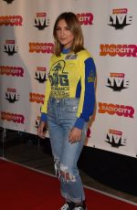 JULIA MICHAELS at Radio City Christmas Live 2017 Gig in Liverpool 11/10/2017