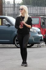 JULIANNE HOUGH Arrives at a Dance Rehersal in Los Angeles 11/15/2017