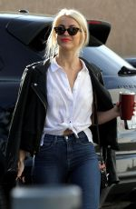 JULIANNE HOUGH Out and About in Los Angeles 11/17/2017