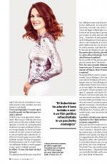 JULIANNE MOORE in Io Donna Del Corriere Della Sera Magazine, November 2017