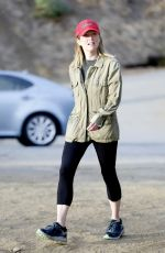 JULIANNE MOORE Out Hiking in Hollywood Hills 11/05/2017