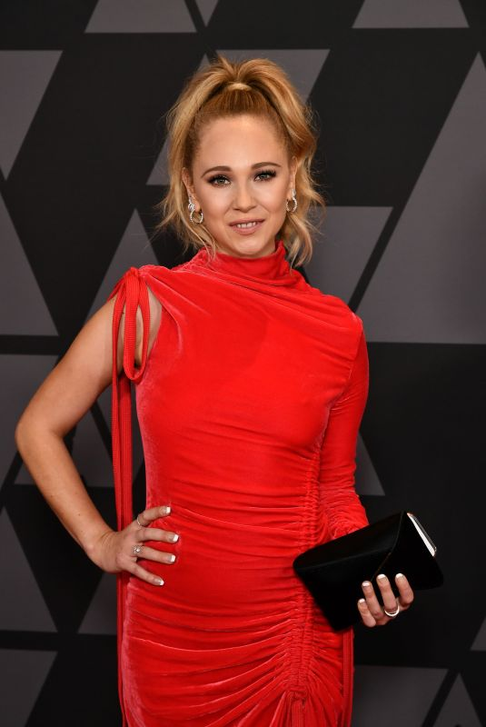 JUNO TEMPLE at AMPAS 9th Annual Governors Awards in Hollywood 11/11/2017