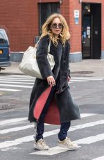 JUNO TEMPLE Out and About in New York 11/14/2017