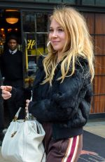JUNO TEMPLE Out and About in New York 11/15/2017