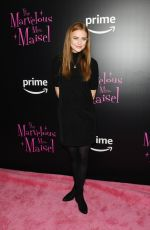 JUSTINE LUPE at The Marvelous Mrs. Maisel TV SERIES Premiere in New York 11/13/2017