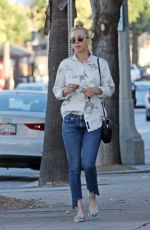 KALEY CUOCO Leaves a Nail Salon in Los Angeles 11/08/2017