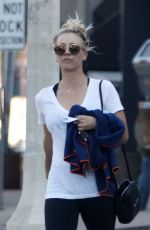 KALEY CUOCO Leaves Yoga Class in Los Angeles 11/15/2017