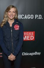 KARA KILMER at 3rd Annual NBC One Chicago Party in Chicago 10/31/2017