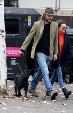 KARA TOINTON and Dr Marius Jensen Out in London 11/22/2017