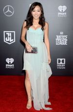 KAREN FUKUHARA at Justice League Premiere in Los Angeles 11/13/2017