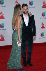 KAREN MARTINEZ at Latin Grammy Awards 2017 in Las Vegas 11/16/2017