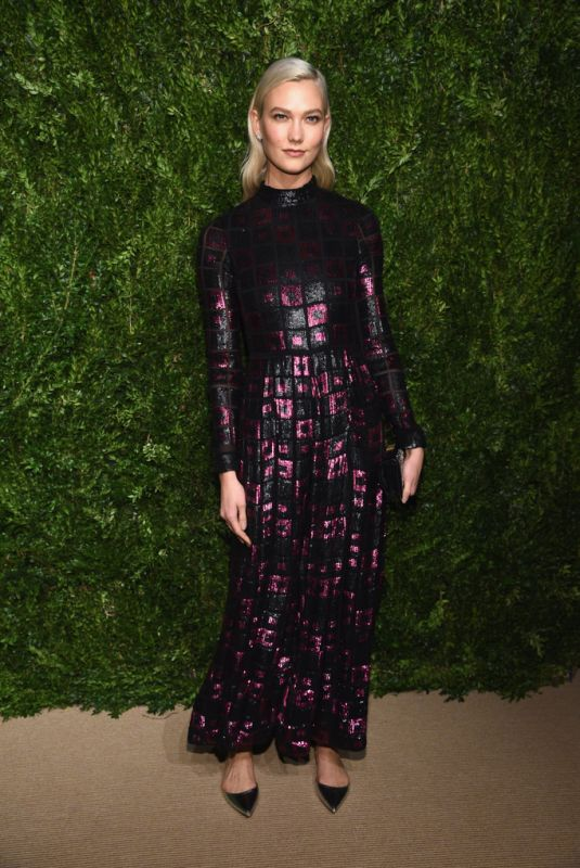 KARLIE KLOSS at 14th Annual Cfda/Vogue Fashion Fund Awards in New York 11/06/2017