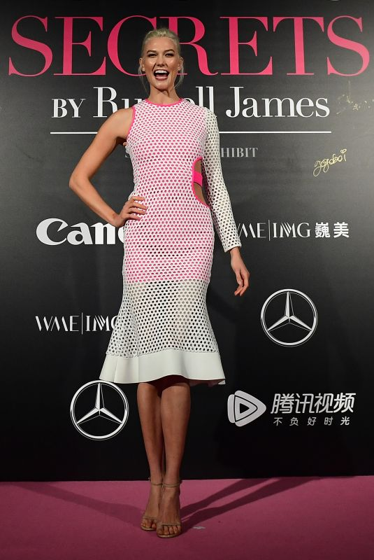 KARLIE KLOSS at Mercedes-Benz Backstage Secrets in Shanghai 11/18/2017