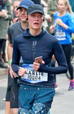 KARLIE KLOSS Running The New York Marathon in New York 11/05/2017
