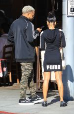 KARRUECHE TRAN at Il Pastaio in Beverly Hills 11/09/2017
