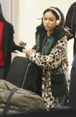 KARRUECHE TRAN at LAX Airport in Los Angeles 11/23/2017