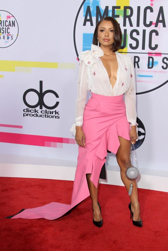 KAT GRAHAM at American Music Awards 2017 at Microsoft Theater in Los Angeles 11/19/2017