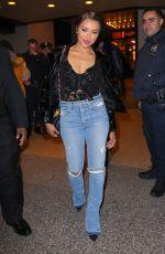 KAT GRAHAM Leaves MTV's TRL in New York 11/22/2017