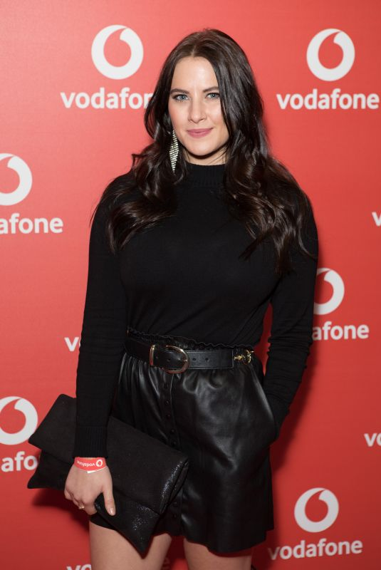 KAT SHOOB at Vodafone Passes Launch in London 11/01/2017