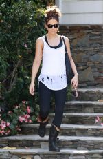 KATE BECKINSALE Heading to a Gym in Los Angeles 11/10/2017