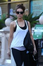 KATE BECKINSALE Shopping at Bristol Farms in Beverly Hills 11/27/2017
