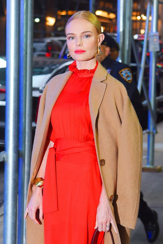 KATE BOSWORTH Arrives at Good Morning America in New York 11/06/2017