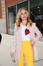 KATE BOSWORTH Out and About in New York 11/07/2017