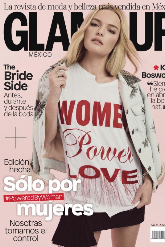 KATE BOSWOTH in Glamour Magazine, Mexico December 2017