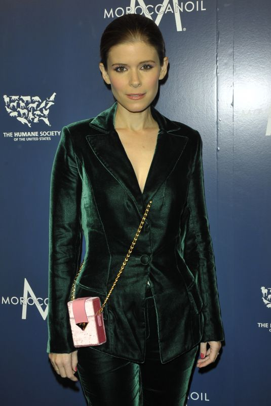 KATE MARA at 2017 Humane Society Gala in New York 11/10/2017
